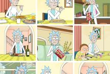 Rick and Morty Cute / Cute Rick and Morty stuff