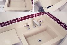 bancadas de banheiro