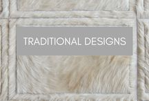 Traditional Designs / Traditional Hide Rug Patterns by Kyle Bunting