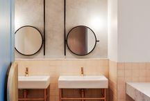 Cafe bathrooms