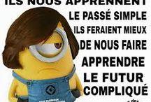 Humour en français
