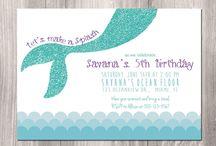 Isabella 7th birthday - pool party ideas