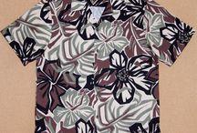 eBay vintage RJC aloha shirts