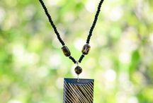 Nyora Beads Necklaces / All of our products are fair trade and handmade in the slums of Kenya. Every dollar you spend goes directly into scholarship funds to send kids there to school. Learn more at www.nyorabeads.org!
