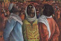 Arab Painter
