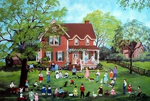 Art- Mary Singleton Folk Art / Sharing the artworks of Folk Artist Mary Singleton
