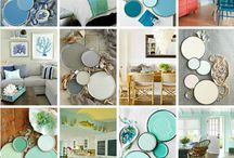 Beach Home / Ways to style your beach home without cluttering the surfaces with lots of shells (well, maybe just one or two shells...)