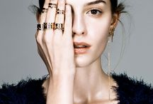 Fine Jewellery Campaign / fashion collage