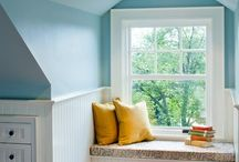 Attic bedrooms / by Back to Basics