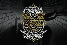 Hand Lettering and TYPOGRAPH