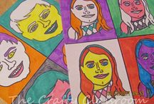 Homeschool Art / Art lessons for homeschoolers, art lesson ideas, art projects for kids, art lesson plans, art classes, creativity for kids,