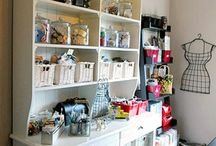 Sewing room Ideas / by Lisa Shingleton