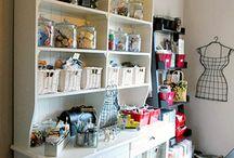 Sewing room Ideas / by Lisa Shingleton