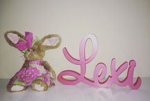 Freestanding Wooden Names / Words / Freestanding Wooden Names / Words custom made at Urban Fairytale