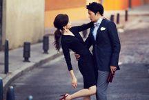 연예인 웨딩화보