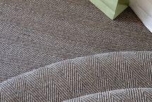 Hallway flooring ideas / Sisal, Seagrass, Coir, Jute & Wool Natural floors, rugs and carpets in hallways, landings and stairs | Sisal hallway carpet | Hallway flooring inspiration | Entrance Hall ideas | Landing Flooring Ideas | Stair Runner