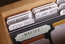 Recipe organising / Great ways to store and organise your favourite recipes!