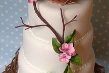 Cakes - how do you cut these? / Beautiful cakes / by Retta Book