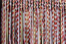 cortinas con tiras