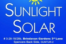 Sunlight Solar / Sunlight Solar is a distributor for all types of solar products that available in the market.  Services: ✔ Solar Fencing, ✔ Solar Inverters, ✔ Solar PV Panels, ✔ Solar Water Heaters, ✔ Solar Lighting Systems, ✔ Solar Street Lighting Systems, ✔ Solar Pump Systems For Agriculture  Contact:  Sunlight Solar, D.No: 3-28-18/28b, 3rd Lane, Spencers Back Side, Brindavan Gardens, Guntur – 2, ✆  0863-6586555 ✉ sunlightsolarpower@gmail.com