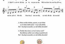 písničky MŠ