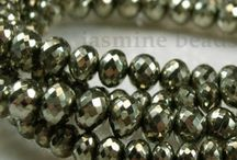 Pyrite Faceted Gemstone Beads