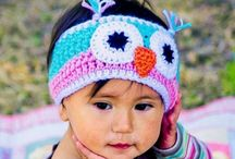 crocheted/knitted earwarmers/headbands/gloves/mittens / by Samantha Karr-Tom