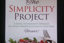 The Simplicity Project / A simple no-nonsense approach to losing weight & changing your body by author Jenn Pike