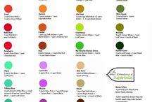 pettinice kleur kaarte