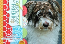 Layouts-Furry Friends / by Peggy Bush