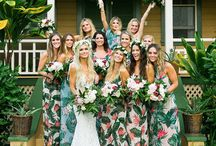 Wedding Summer Pleasure / We love weddings, but mostly summer breeze weddings! Absolutely adorable!
