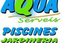 Aqua service in Reus, Tarragona, swimingpools, garden and cleaning