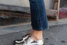 Metal shoe