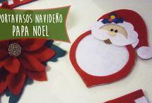 Papa Noel Portavasos Navideño: Ideas para decorar tu mesa en esta navidad