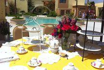 Tea Party / Evento en la alberca de Santuario Digueño Hotel