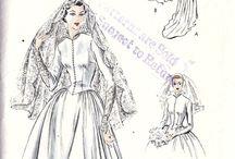 Bruidsjurken/Vintage