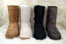 Chaussures en peau, daim, cuir
