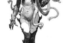 Snake-Human Monster