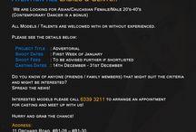 Create Talents and Models Casting Calls / Find & apply to the latest Create Talents and Model Casting Calls & Auditions on CreateTalentsandModels.com