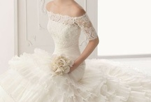 Wedding dresses for my daughter / by Shawn Messer Jones