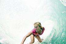 Bethany hamilton / Bethany hamilton is an amazing surfer