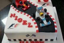 Racer Car Cake