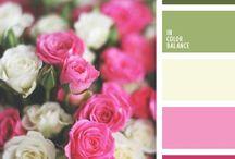 сочетание цветов / Сочетание цветов  в одежде,интерьере и т.д