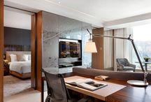 Bed room and wardrop