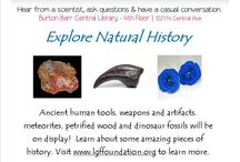 Science Cafe at the Burton Barr Central Library / Join us for a special Science Café hour as Mike from the LGF Foundation showcases some of the foundation's remarkable natural history collection.  Items will include ancient human tools, weapons and artifacts, petrified wood ( our state fossil) and yes...dinosaur fossils.  Mike will take us around the world as we explore his fascinating collection from a long time ago.    Join us 3/12/2015 , 7:00- 8:00pm at the Burton Barr Central Library.  1221 N Central Ave, Phoenix AZ 85004.