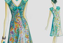 Moda projekty sukienek, bluzek
