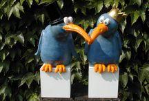 ptáci keramika