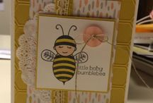 Stampin Up Baby Bumbelbee