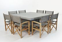 Outdoor furniture / Table and chairs for outdoor area