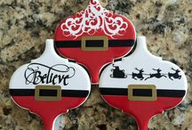 Tile Your Tree / Turn leftover tile into beautiful decorations for your Christmas tree!